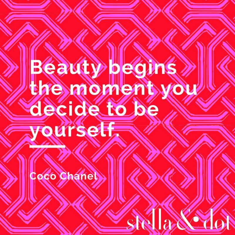Fabulous advice. #stelladotstyle