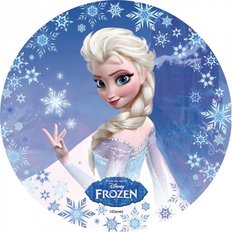 disque azyme la reine des neiges frozen elsa disney