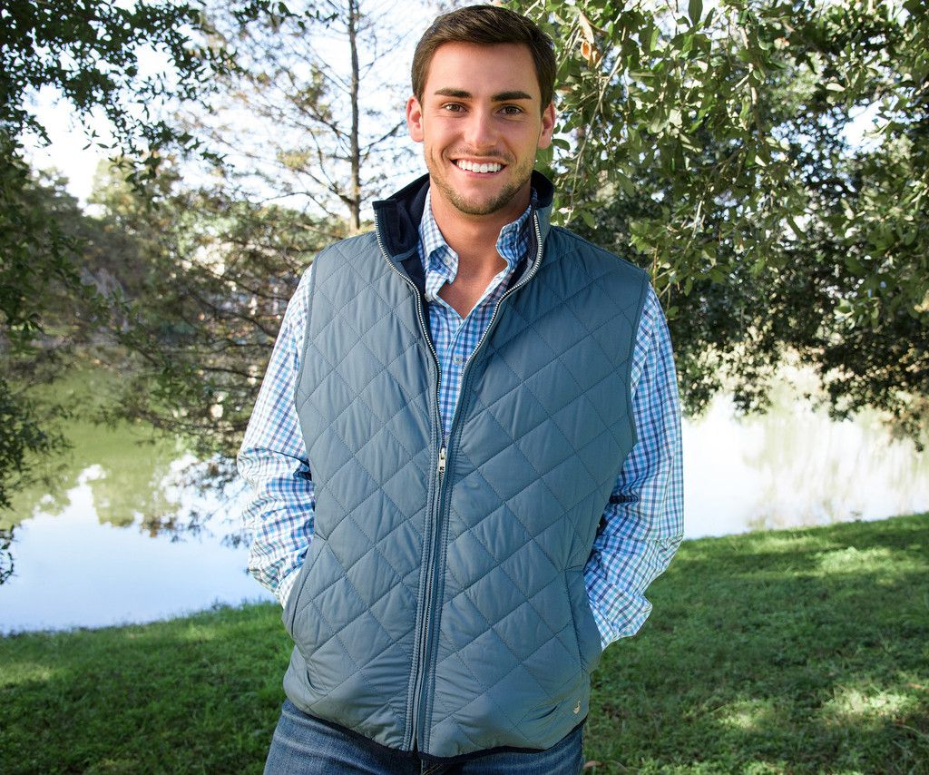 Southern Marsh Marshall Quilted Vest