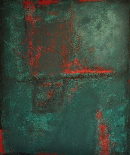 abstrakte Acrylmalerei, Unikat, Original,120x100cm von Kunst & Design Werkstatt auf DaWanda.com