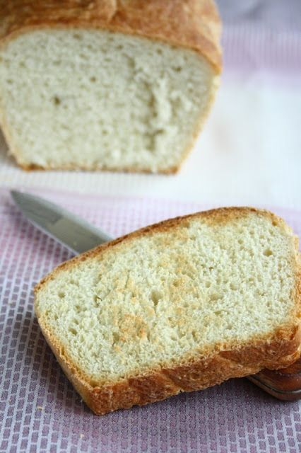 White Sandwich Bread - Soft and fragrant, there's nothing better than a smell of fresh homemade bread filling the house.