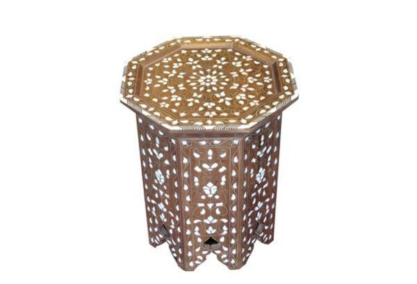 orientalisch perlen marokkanisch möbel tisch ideen