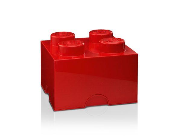 Caja piezas lego rojo estas piezas de lego de grandes - Piezas lego gigantes ...