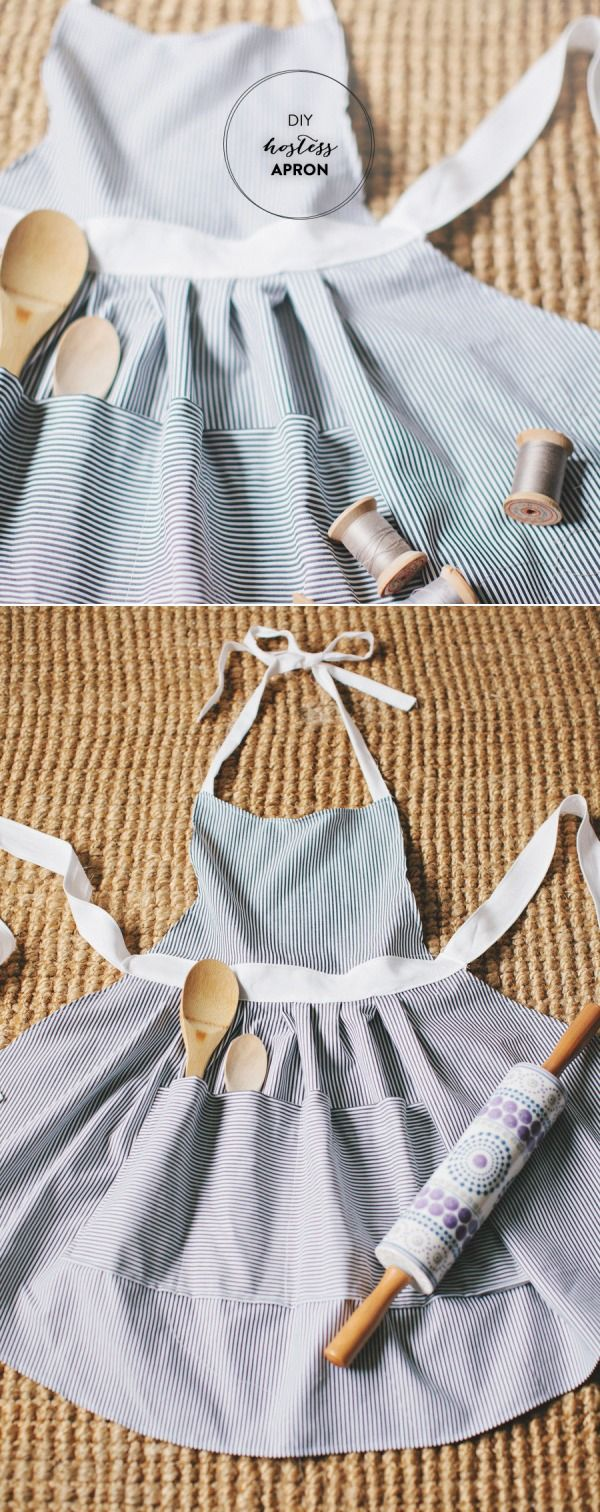 DIY Hostess Apron | Style Me Pretty