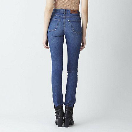 acne needle jeans