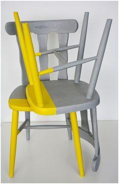 Sedie Colorate Fai Da Te.Pin Di Barbara Cavalluzzo Su Diy Sedie Decorate Sedie Dipinte E
