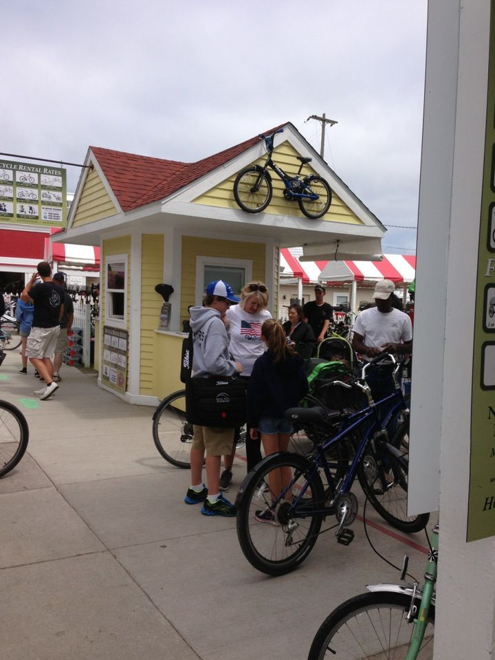 Mackinac Island Bike Shop Mackinac Island Island Travel