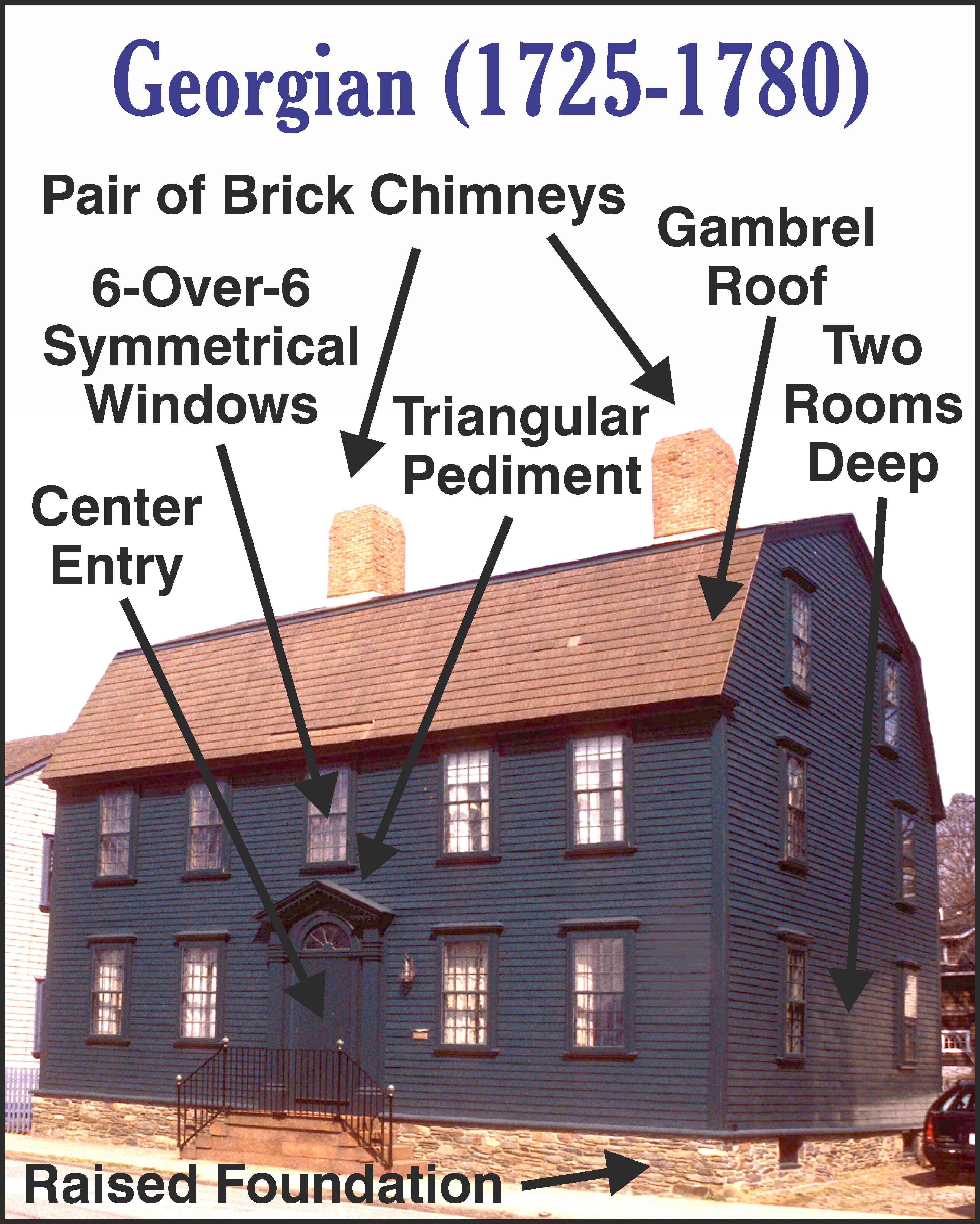 Early Colonial Georgian Architecture Pinterest