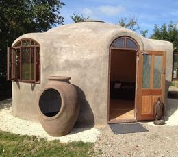 Dome home ferrocement projects pinterest house tiny for Ferrocement house plans