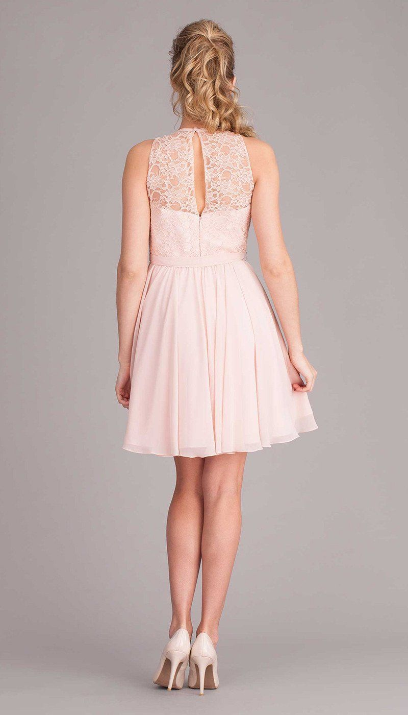 Londyn high neck bridesmaid dresses and lace top bridesmaid dresses
