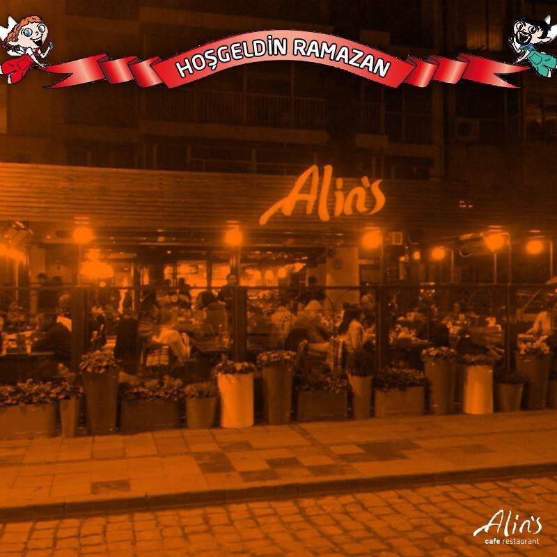 Ramazanda da hepbirlikte olmak dileğiyle... www.alins.com.tr #alins #iftar #ramazan #restaurant #cafe