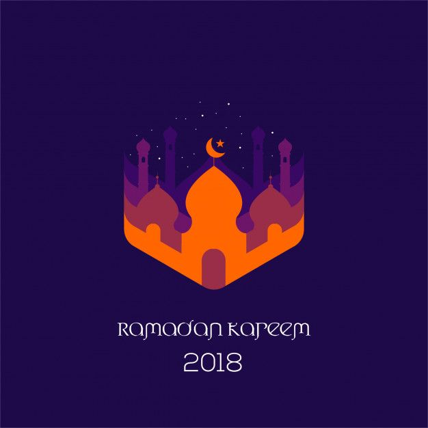 Flat Mosque Ramadan Kareem Flyer And Poster Design Instagram Template Design Ramadan Kareem