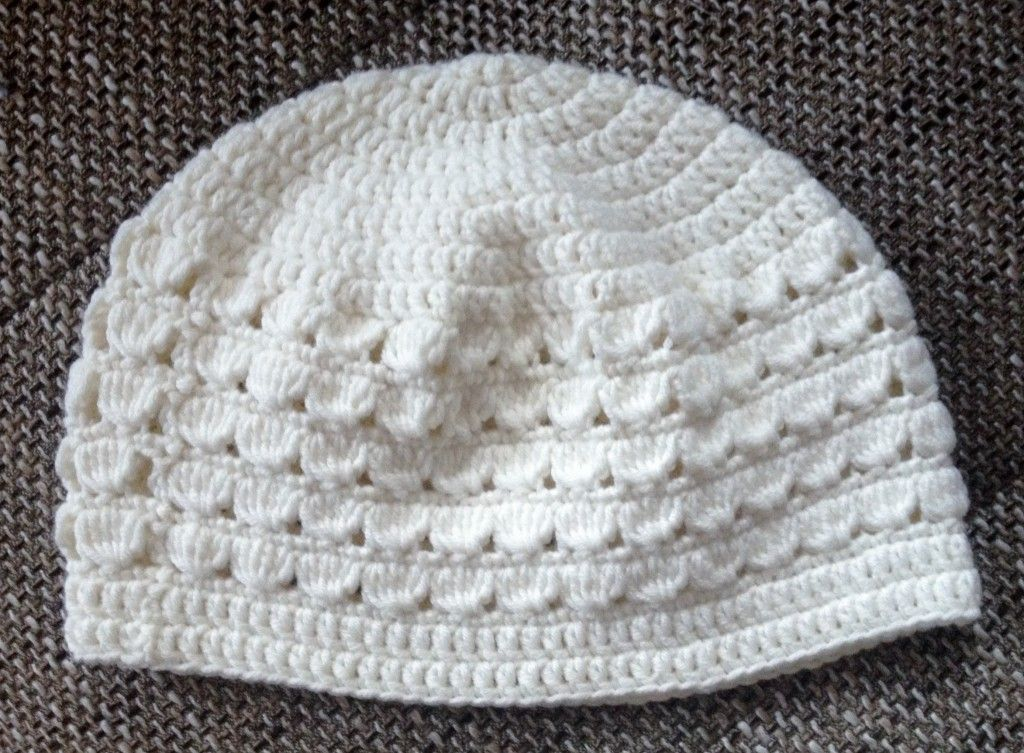 Häkelanleitung für eine Mädchenmütze mit einem Kopfumfang von 50-52 ...