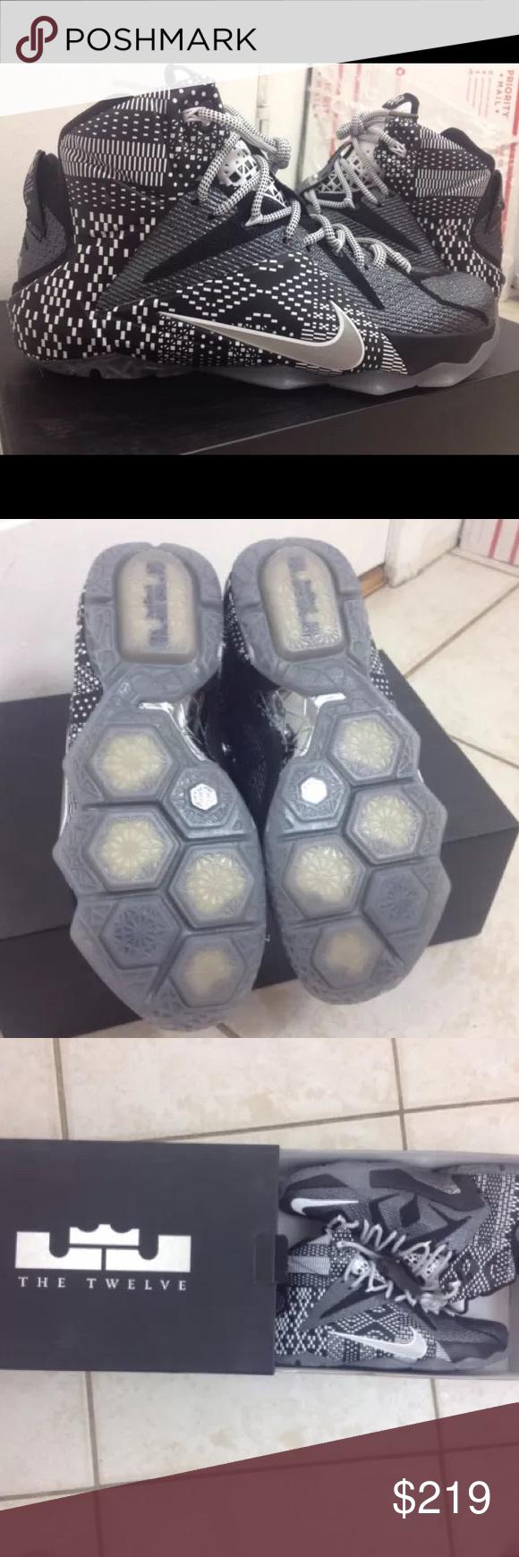 a303e0d4ab63 LeBron 12 BHM DS Size 8 Rare Basketball Shoes Brand new never worn rare LeBron  12