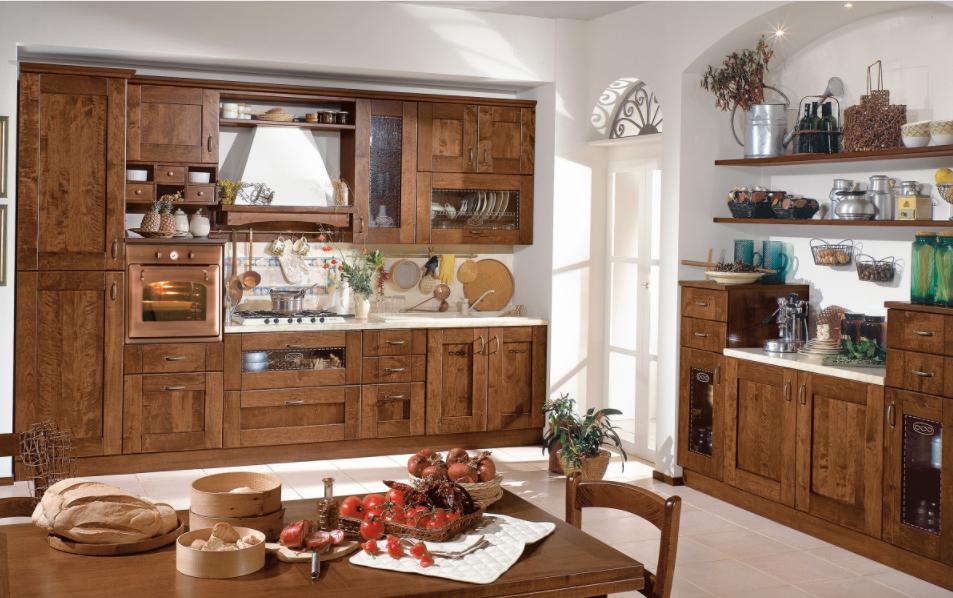 Le Foto E I Prezzi Delle Cucine Mondo Convenienza In Stile Shabby