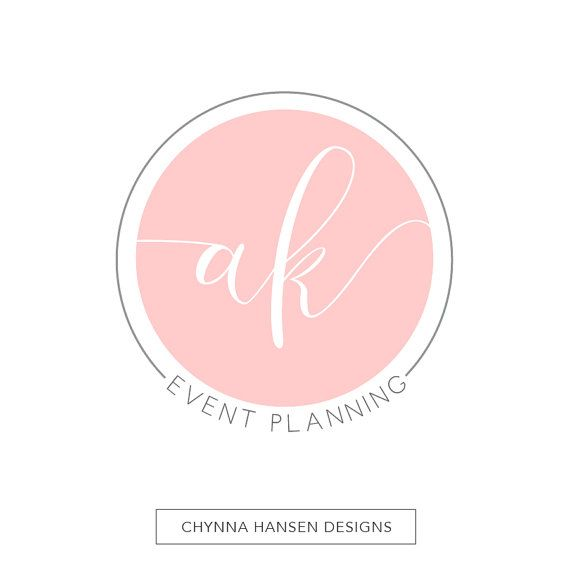 Premade Logo Design Initial Logo By ChynnaHansenDesigns On