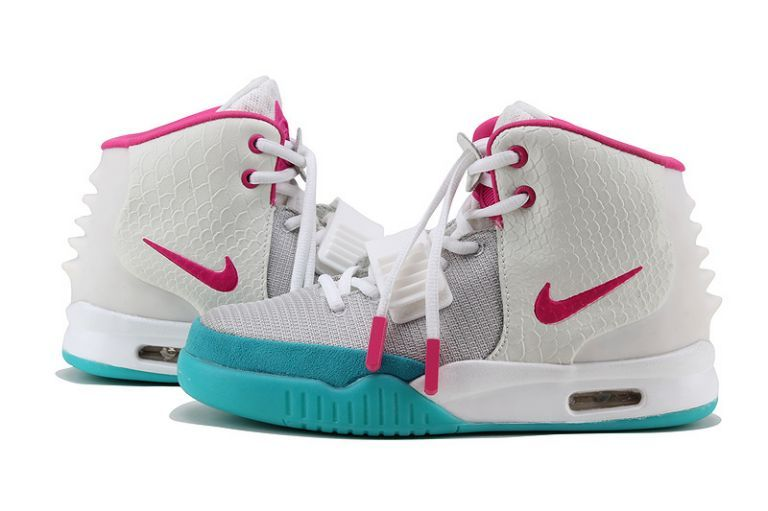Nike Shoes Air Yeezy 2 Sneaker Grey Pink Women'S Cheap At The Price
