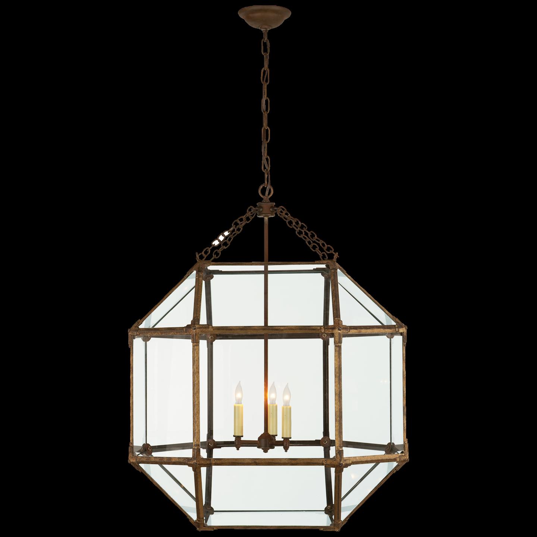 Morris Large Lantern With Images Ceiling Pendant Lights Visual Comfort Lighting Large Lanterns