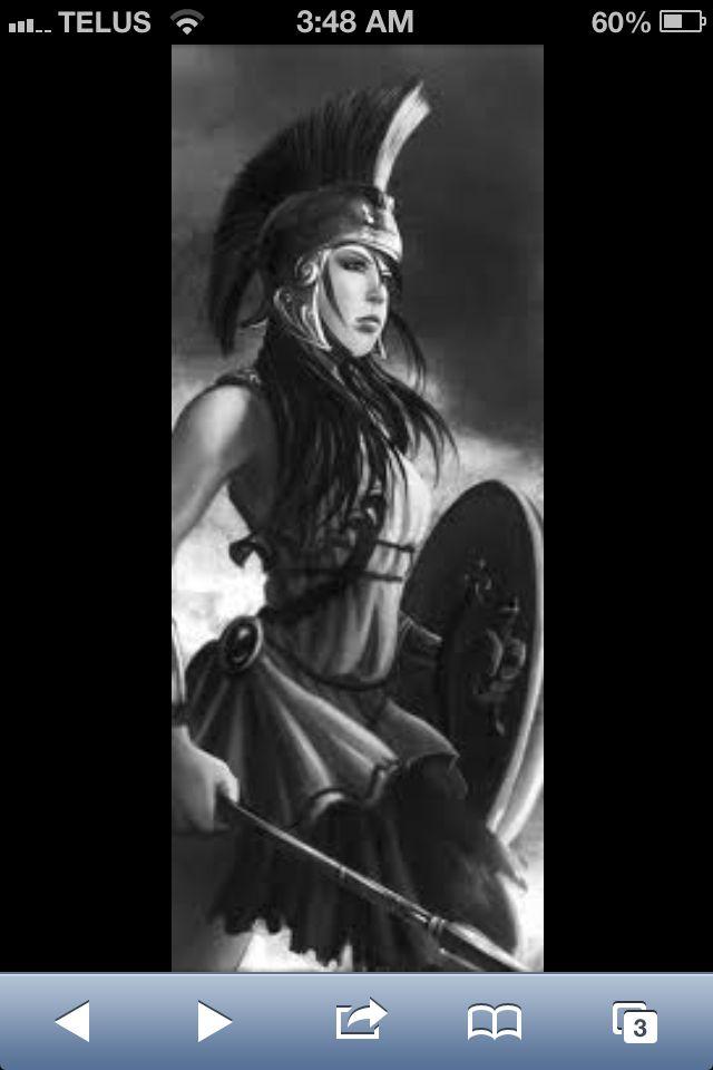 Warrior Women Tattoo