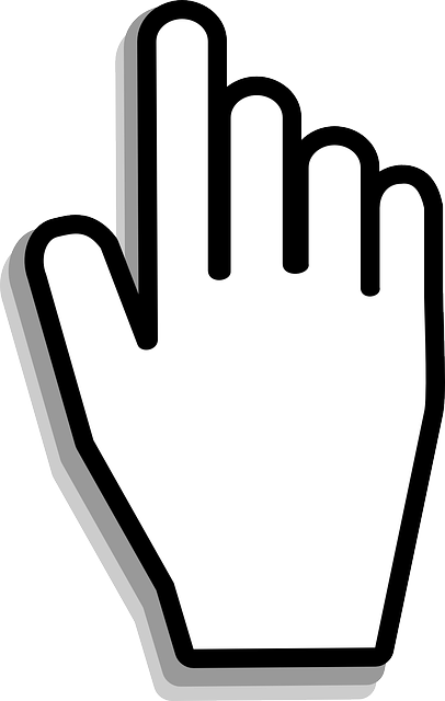 Free Image On Pixabay Cursor Hand Mouse Click Free Images Youtube Editing Logo Illustration Design