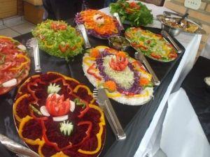 Mesa de frutas mesa de frios mesa saladas servicos - Mesas para buffet ...