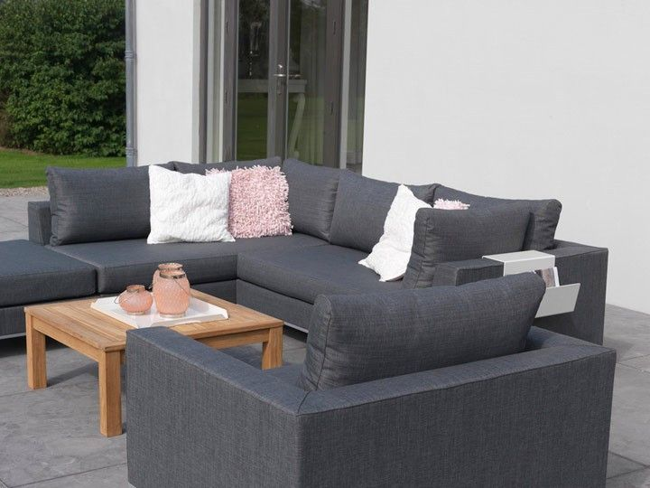 casablanca lounge grau garten gartenm bel gartensofa gartenlounge loungegruppe sitzgruppe. Black Bedroom Furniture Sets. Home Design Ideas