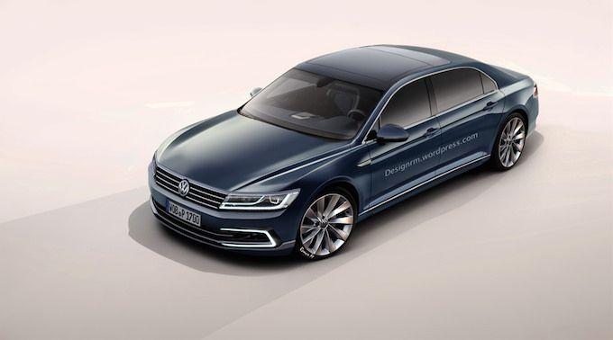 Volkswagen Phaeton 2016 1