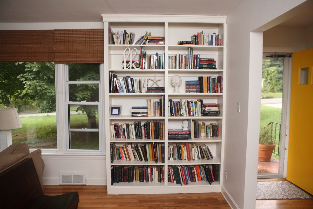 Do It Yourself Home Design: Built In Bookcase Designs