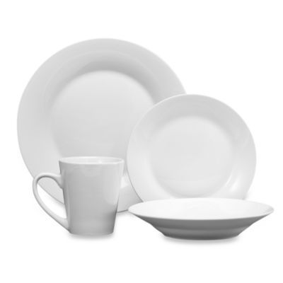 12-Pack Studio White Dinnerware - BedBathandBeyond.com  sc 1 st  Pinterest & 12-Pack Studio White Dinnerware - BedBathandBeyond.com | The Victory ...