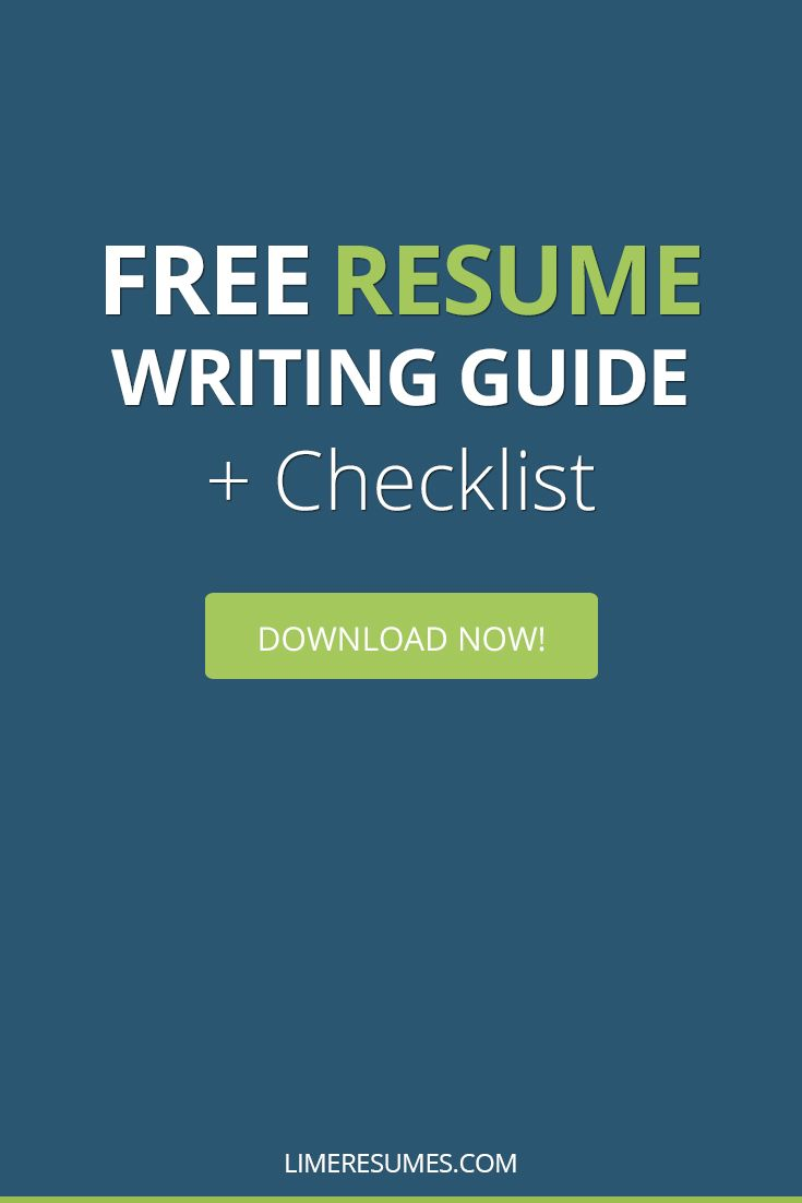 Blueprint to creating the perfect resume resume writing