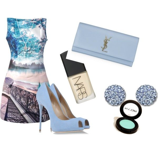 """Acquamarine"" by marty0012 on Polyvore"
