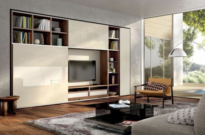 Ikea Wohnwand Cremeweiß Eingebaut Huelsta.be Tv Walls, Ikea Decor, Tv Shelf,