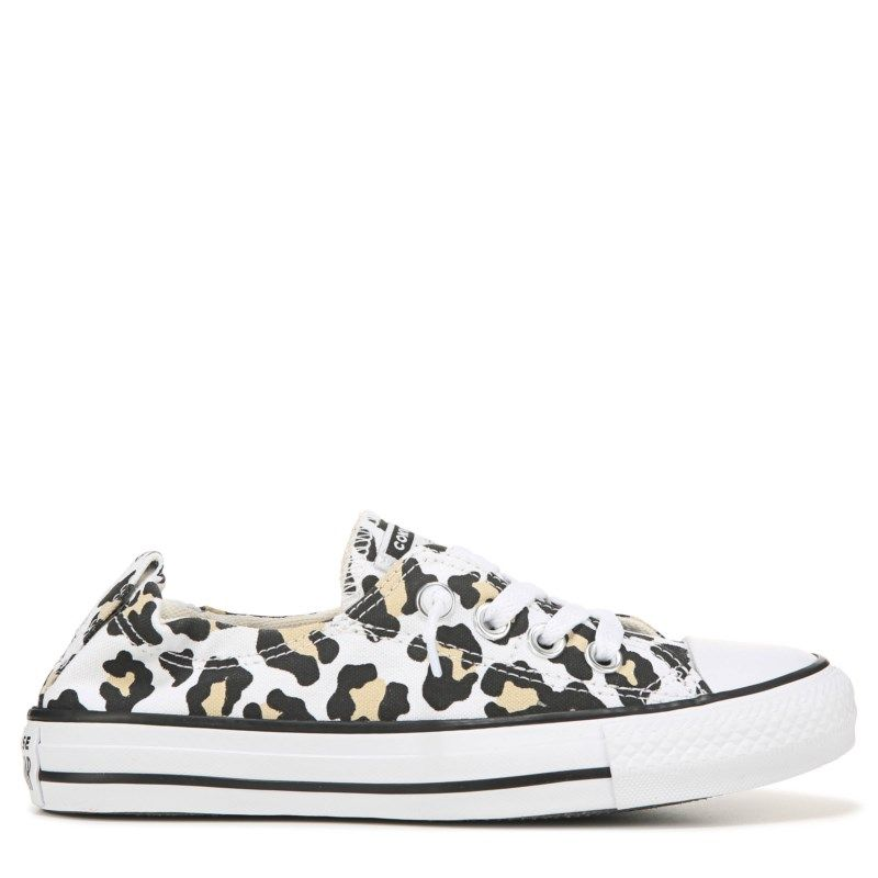 Leopard Cheetah Print Black Womans Skateboard Casual Shoes Sneakers Original Fitness Shoe