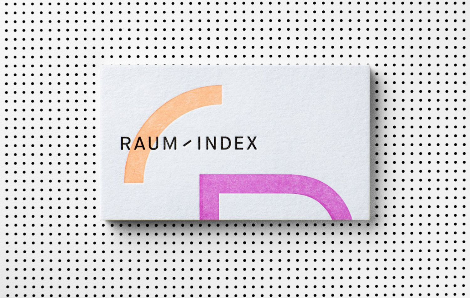 New Brand Identity For Raumindex By Moodley Bp O Business Card Design Branding Design Branding