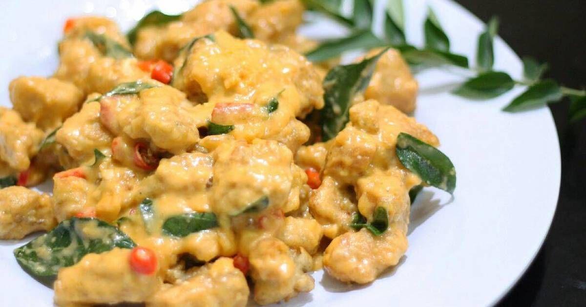 Resep Creamy Ayam Telur Asin Ala Resto Anti Gagal Oleh Lilyhusnikitchen Resep Makan Malam Resep Masakan Asia Resep Ayam