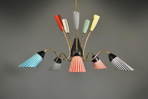 50′s chandelier | Contemporary Showroom - project c | Pinterest ...