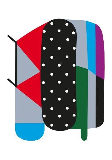 "Saatchi Art Artist Alessandro La Civita; Collage, ""#I"" #art #abstract #contemporary #collage #textile #surfacepattern #design"