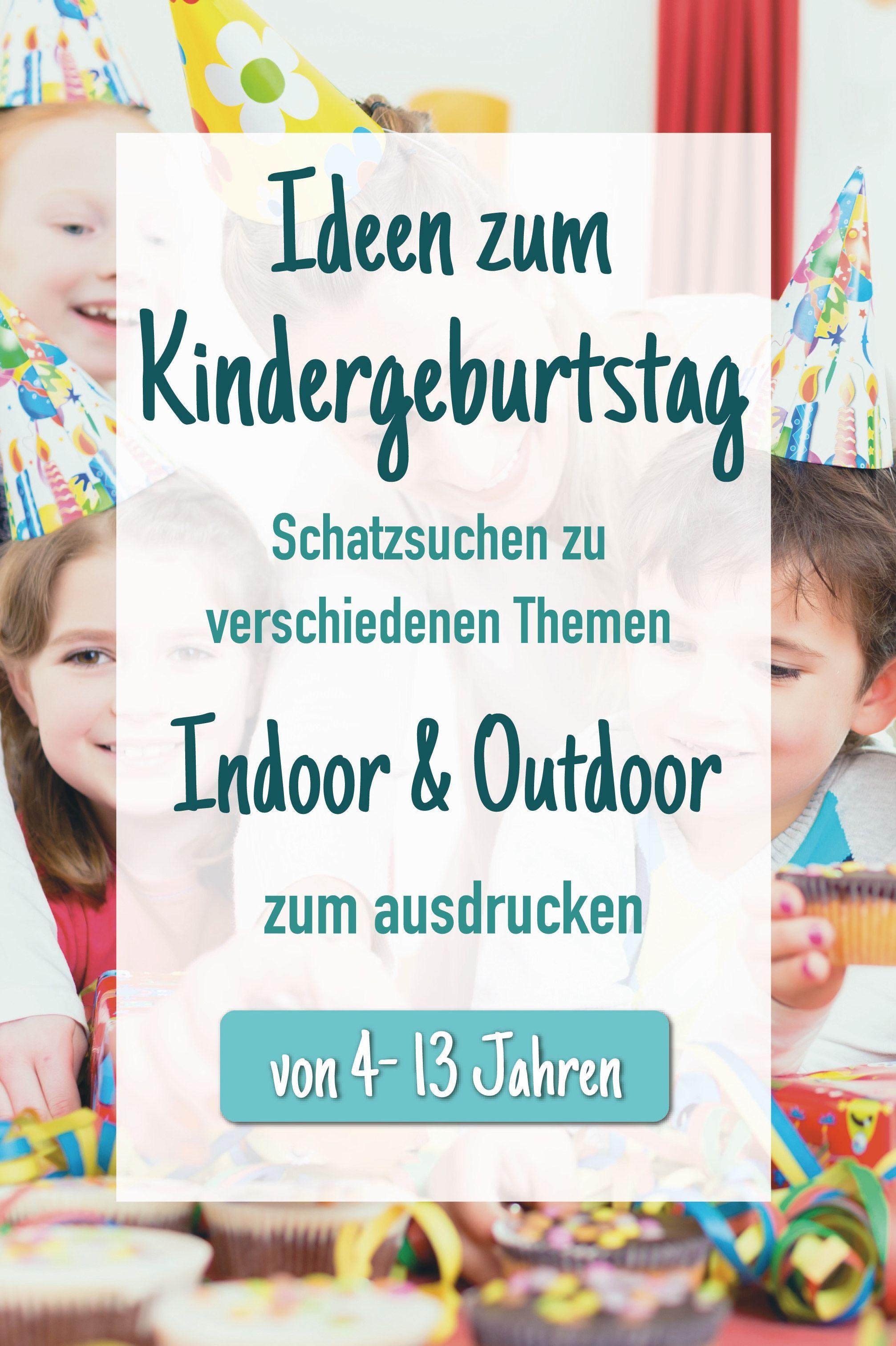 Photo of Ideen zum Kindergeburtstag  Schatzsuche zum ausdrucken