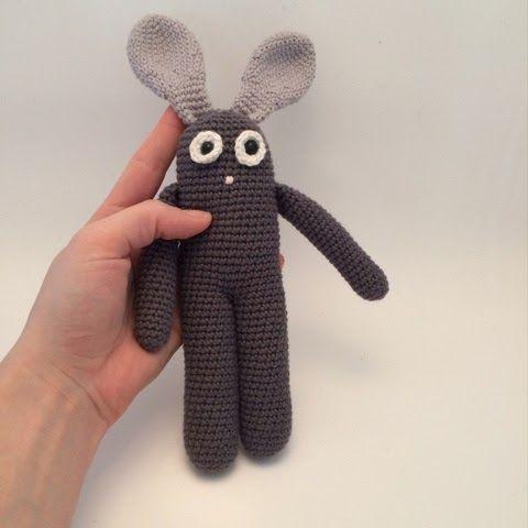 LittleHappyCrochet: DIY - langbenet kanin