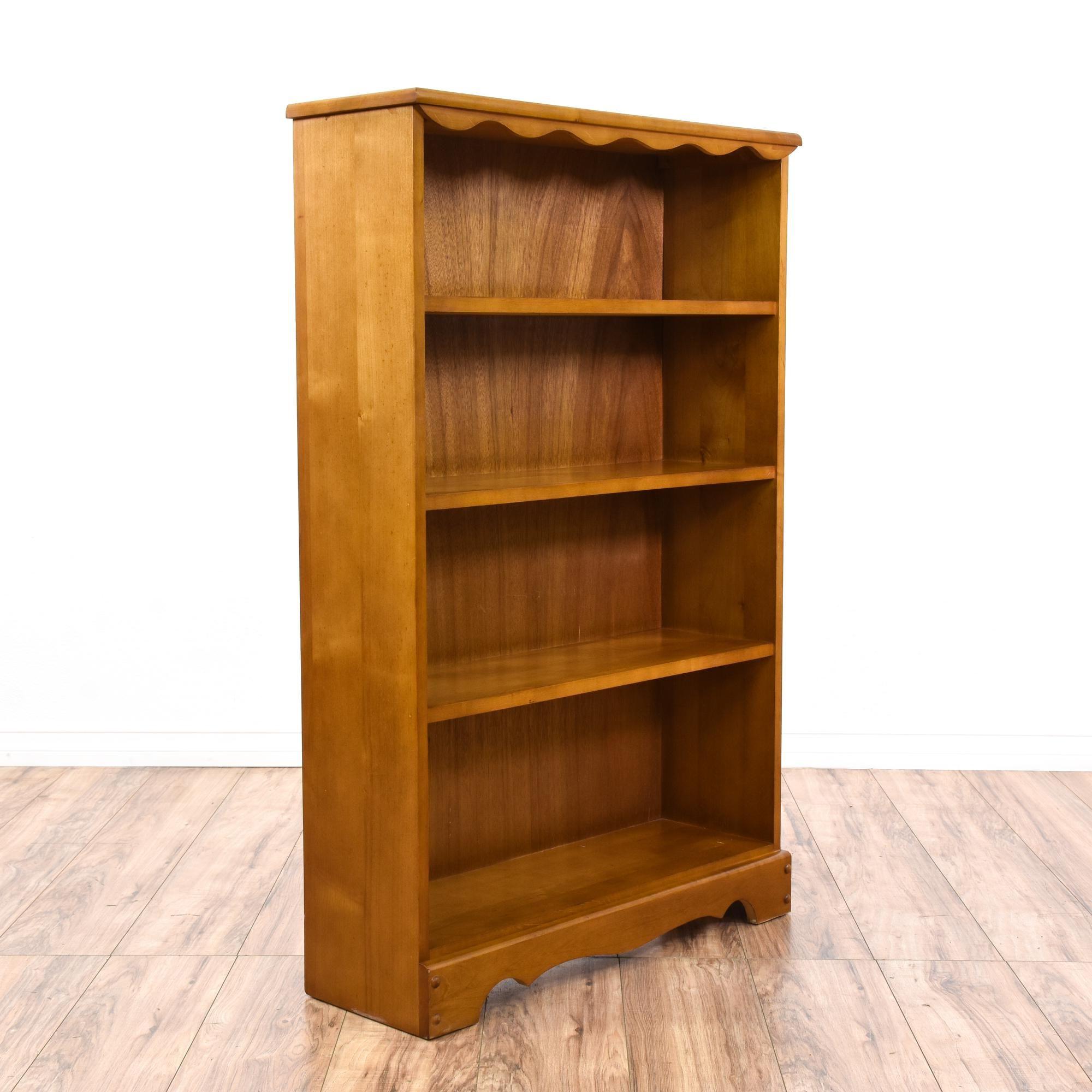 bookcase maple advantage workspace shop