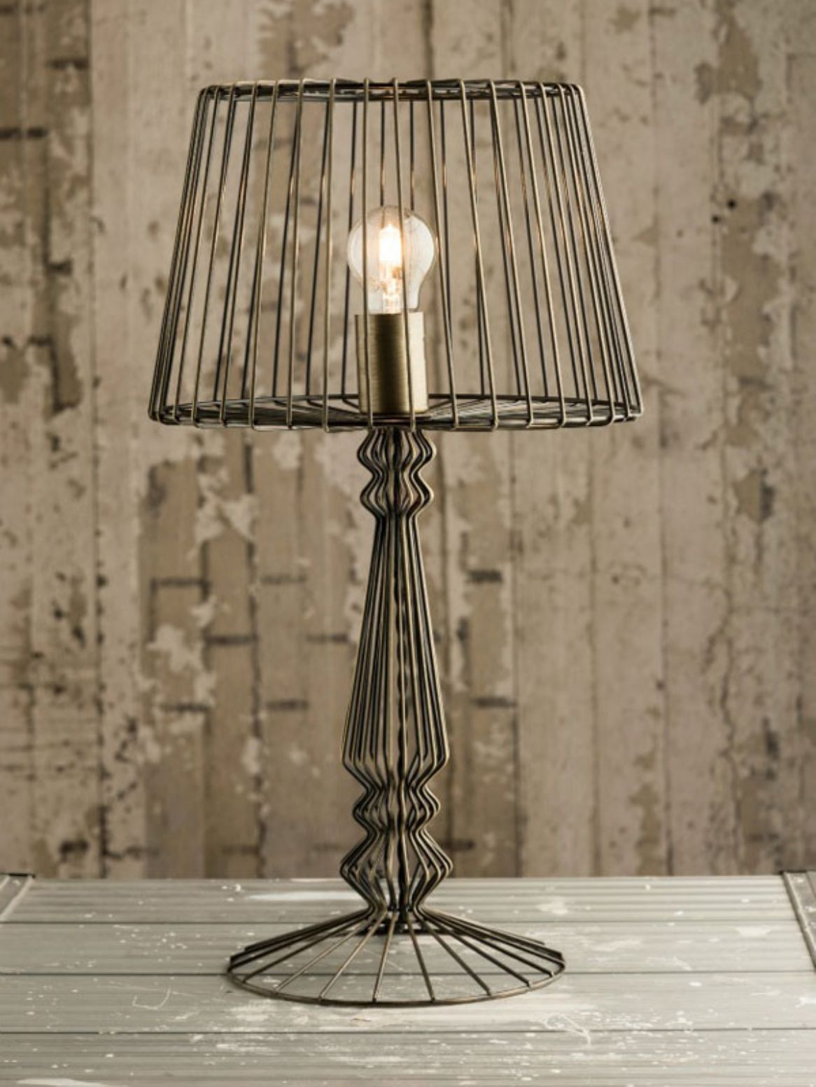 Industrial Wire Table Lamp Center Recycled Circuit Board Wall Clock Envirogadget Lighting Pinterest Rh Com Eclectic Lamps