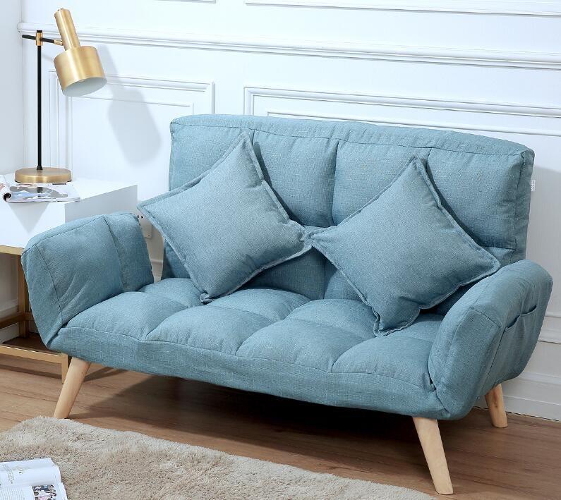 Japanese Futon Sofa Lounger Sit Lounge Sleep Small Sofa Furniture For College Dorm Bedroom Studio Apartment Couches Love S… | Small Sofa, Futon Sofa, Sofa Furniture