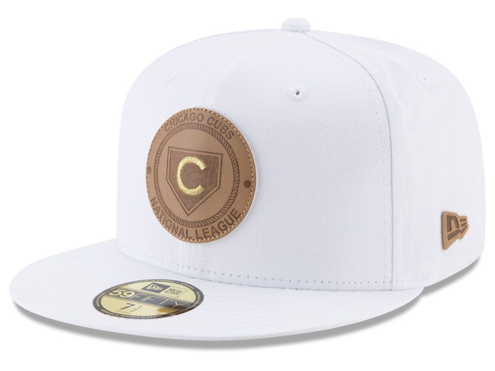 online retailer 45ab7 bb046 20938327 - Chicago Cubs New Era MLB Vintage White 59FIFTY Cap