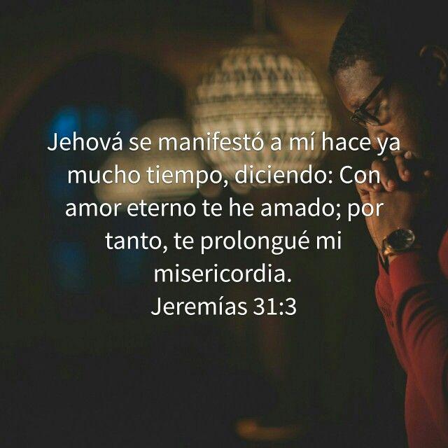 Amor eterno. Jeremías 31:3