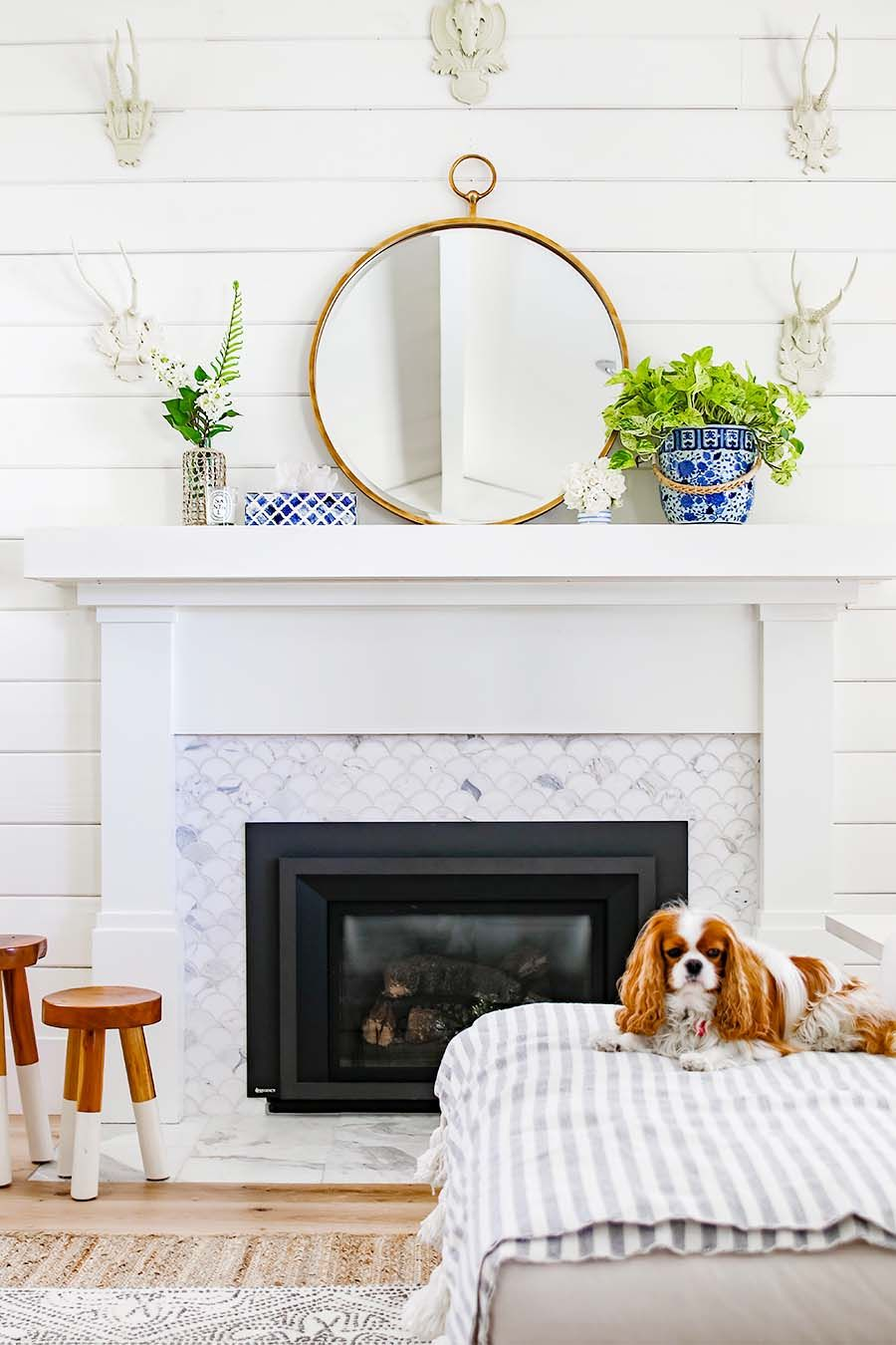 How To Decorate Your Mantel For Summer Step By Step Tips