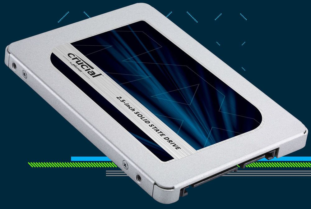 Crucial Mx500 Ct1000mx500ssd1 2 5 Sata Internal Solid State Ssd