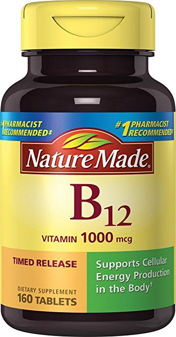 Nature Made Vitamin B12 1000 Mcg. Timed Release Tablets