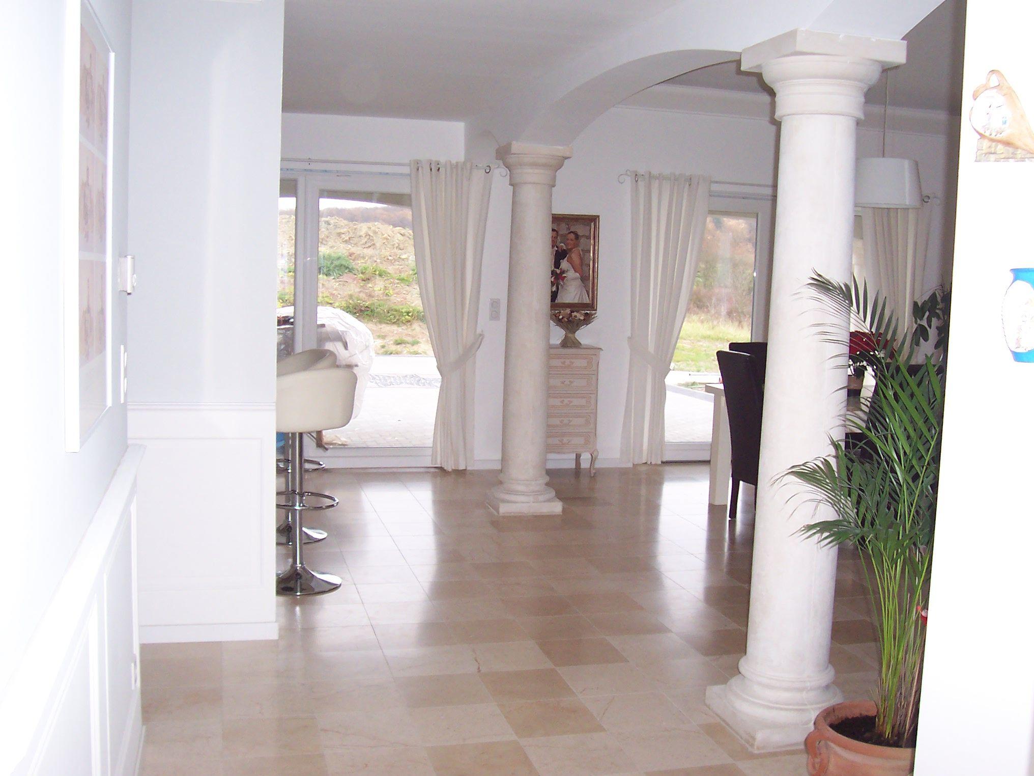 colonne beton decoratif colonne classique en pierre reconstitu e lisse pleine
