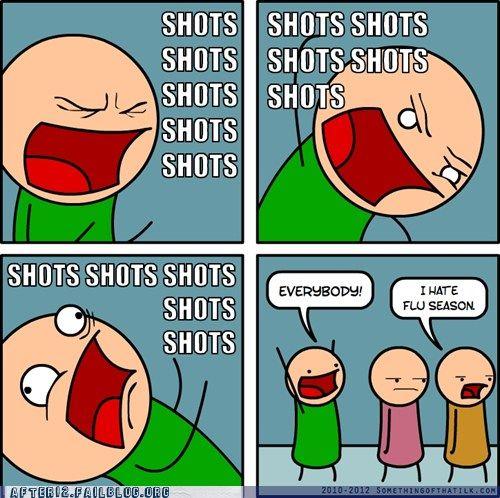 HAHAHAH shot shot shot shot!