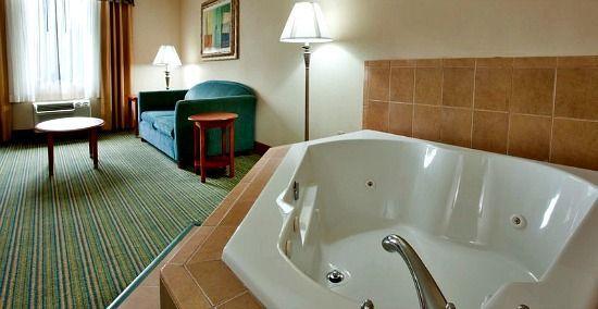 Holiday Inn Spa Tub Suite, Richmond VA